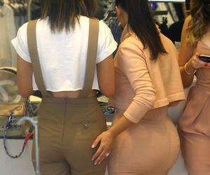 kim kardashian, kylie jenner, and cake for days image