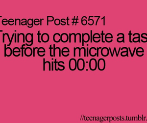 teenager post, Microwave, and funny image