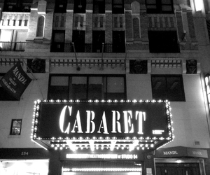 broadway, cabaret, and michelle williams image