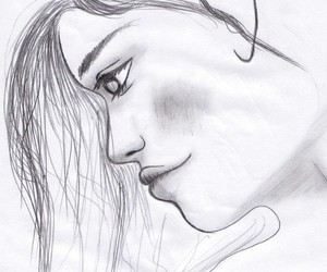 draw, love, and girl image