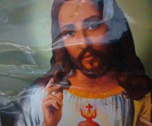 Christ, grunge, and jesus image