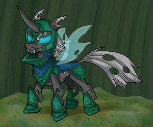 changeling, fim, and MLP image