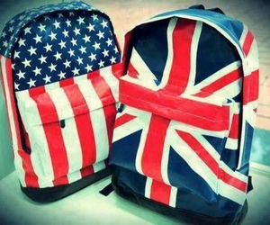 bag, usa, and england image