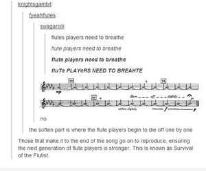 band, marching band, and flutes image