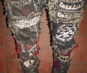 crust, patches, and punk image