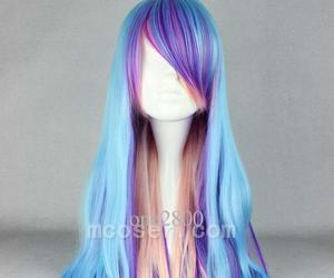 colorful, hair, and hairstyles image