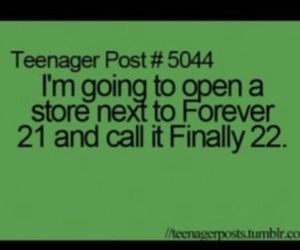 funny, forever 21, and teenager post image