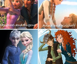 elsa, love, and anna image