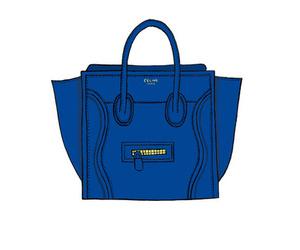 bag, blue, and blue bag image