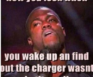 funny, kevin hart, and charger image
