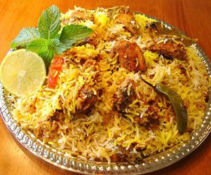biryani, Chicken, and food image