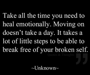 quote, broken, and heal image