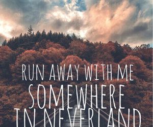 all time low, Lyrics, and neverland image
