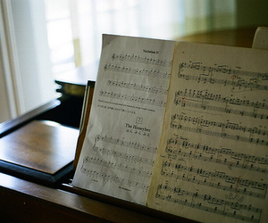 music notes and sheets image