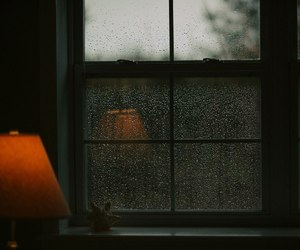 rain, photography, and window image