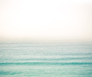 beach, just breathe, and water image