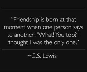 quote and friendship image