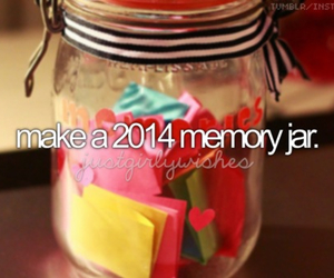 memories, 2014, and jar image