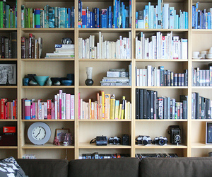 books and colours image