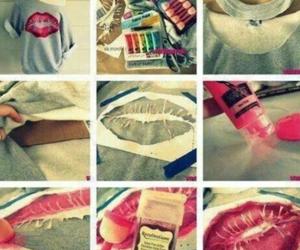 diy, lips, and kiss image