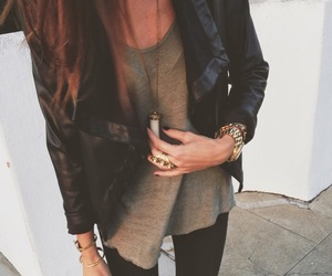 beige, street style, and watch image