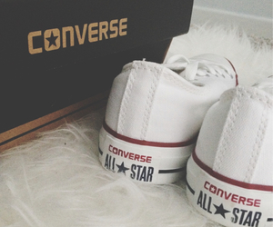 all star, converse, and white image