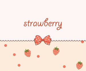 background, strawberry, and iphone5 image