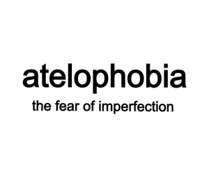 fear, imperfection, and phobia image