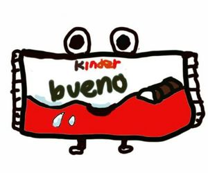 kinder bueno and cute image