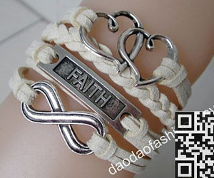 fashion jewelry, infinity bracelet, and personalized bracelets image