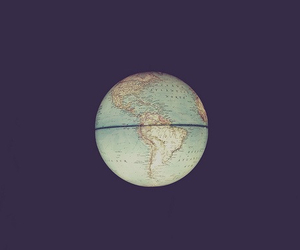 earth, vintage, and light image