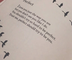 perfect, love, and poem image