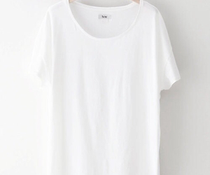 t-shirt, tee-shirt, and white image