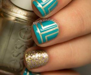 nails and uñas image