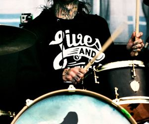 concert, mike fuentes, and drums image
