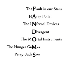 divergent, fandom, and harry potter image