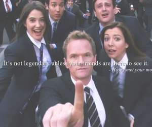 friends, how i met your mother, and himym image