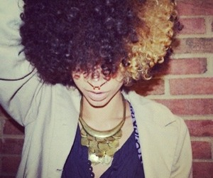 Afro and naturalhair image