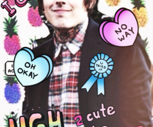 background, bmth, and Collage image