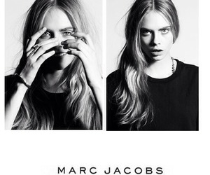 model, marc jacobs, and cara delevingne image