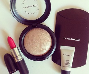 mac, lipstick, and make up image