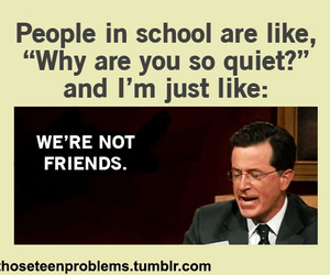 funny, school, and true image