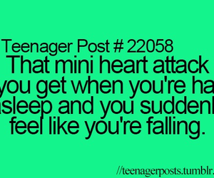 teenager post, falling, and heart attack image