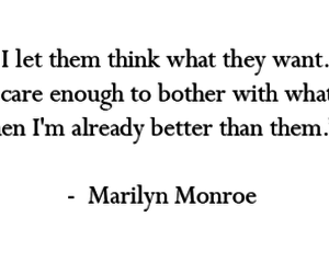 quotes, Marilyn Monroe, and text image
