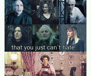 harry potter, lucius malfoy, and lord voldemort image