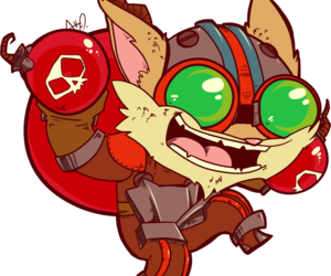 league of legends and ziggs image