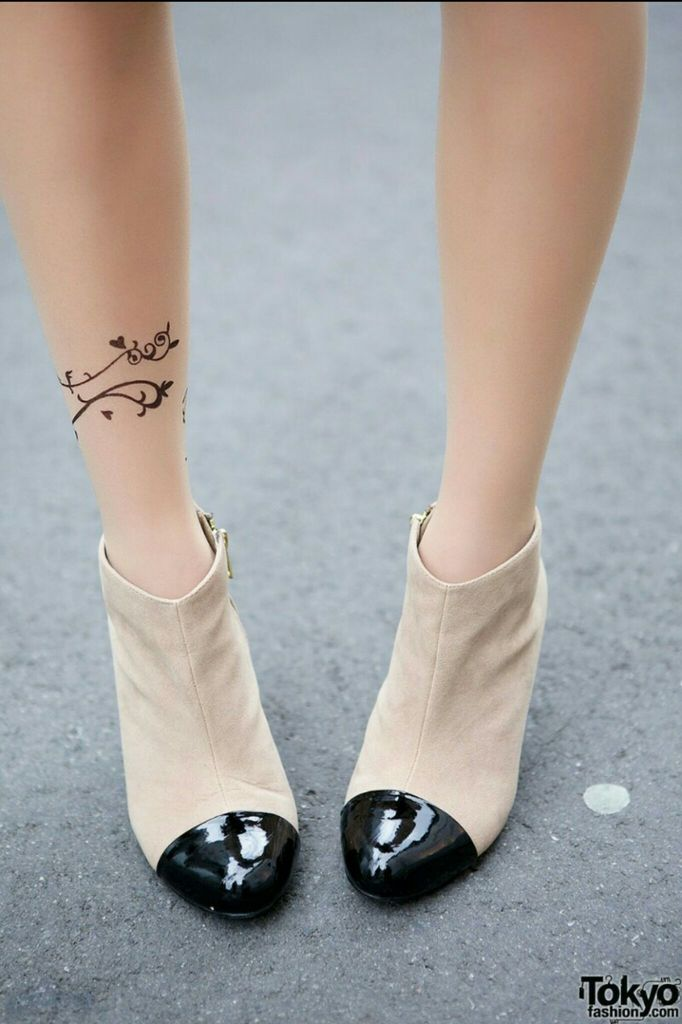 beige, shoes, and fashion image