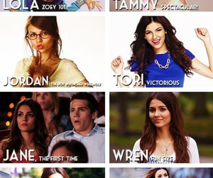 victorious, victoria, and zoey 101 image