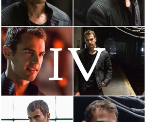 four, divergent, and theo james image