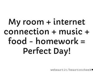music, food, and internet image